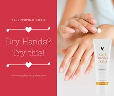 What with all the hand-washing we're needing to do during Covid-19, plus the anti-bacterial treatments, our hands are really suffering at present, aren't they? Well, thankfully, help is at hand with fab Forever's Aloe Propoliis Creme. Click the embedded Facebook link for more info. Aloe Vera Juice Drink, Clean 9, Forever Aloe, Forever Living Products, Dry Hands, Aloe Vera Gel, Weight Loss Plans, Weight Management