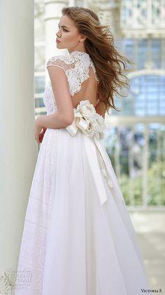 Victoria F 2016 bridal collection #wedding #dress #bride #lace