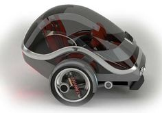 Two Gyro Electric Vehicle Can Weave About Urban and Rural Obstacles #Cars #Automobiles