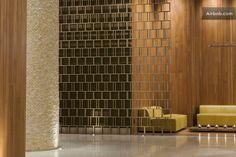 Tower 31 Lobby design by Design Hotel, Lobby Design, Lobby Interior, Interior Architecture, Partition Screen, Hotel Lounge, Hotel Interiors, Hotel Lobby, Hospitality Design