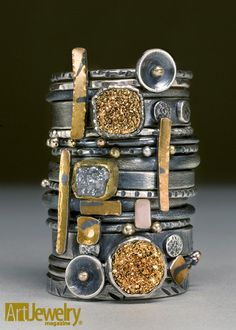 Wendy Thurlow - Art Jewelry Magazine - Jewelry Projects and Videos on Metalsmithing, Wirework, Metal Clay