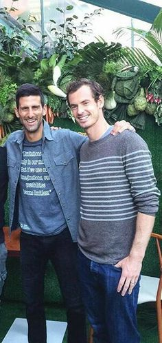 Novak Djokovic & Andy Murray                                                                                                                                                                                 Mehr