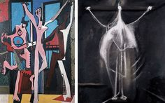 The source: Picasso's Three Dancers (1925) presages Bacon's Crucifixion (1933)