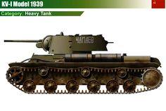 KV-1 M1939 Heavy Tank