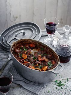 Learn how to make a good Boeuf Bourgignon - Julia Childs