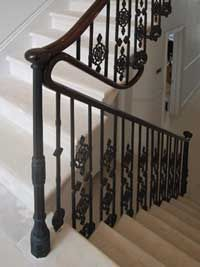 Exceptional Cast Iron Balustrades | Britannia Wrought Iron Staircase, Newel Posts,  Staircases, Irons,