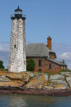 Isle Royale Lighthouse, Michigan, USA (Lake Superior)