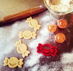 Halloween Trick or Treat Candy Cookie Cutter by OogiMe.