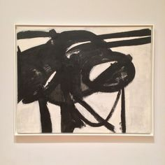 """I paint the white as well as the black, and the white is just as important."" - FRANZ KLINE, born today in 1910."