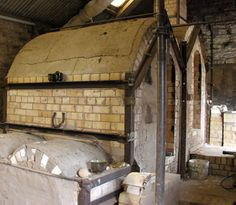 Jim Malone's kiln which looks very similar to the kilns at the Leach pottery. Probably fires in much the same way as well although Jim's kiln seems to have two chambers while as the Leach pottery had three.