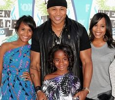 LL Cool J and his daughters.