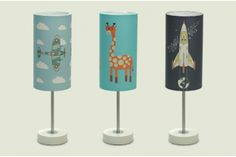Kid's lamps by SEAN CROZIER