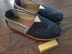 Yes. Yes. Yes. Waterproofing Toms with beeswax