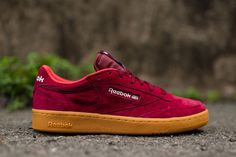"Reebok Club C 85 Indoor ""Burgundy"" - EU Kicks: Sneaker Magazine"