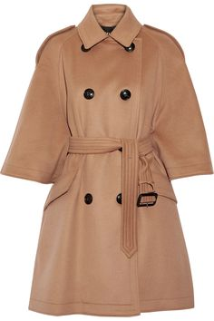 BURBERRY Wool and cashmere-blend coat  $1,995.00 https://www.net-a-porter.com/product/795257