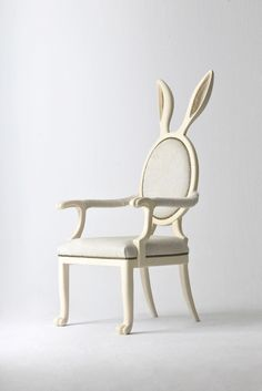 Rabbit Chair- I need this now!!!!!