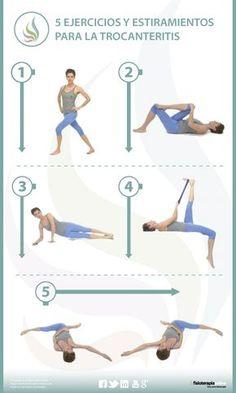 5 ejercicios y estiramientos para la troncanteritis o bursitis trocantérea a30ceeab6175