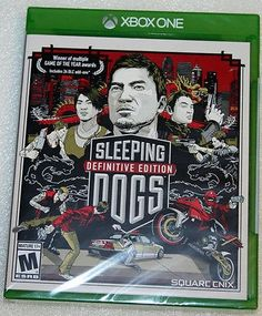 nice Sleeping Dogs Definitive Edition - Microsoft Xbox ONE - NEW & SEALED - For Sale