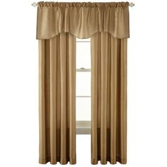 Royal Velvet® Encore Rod-Pocket Window Treatments    found at @JCPenney