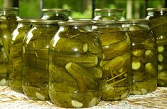 New pickles, Ukraine National Cuisine - Recipes, Pictures, Info. Food Storage, Pickling Cucumbers, Tomato Vegetable, Cookery Books, Russian Recipes, Side Dish Recipes, Grandma's Recipes, Pickles, Cooking Tips