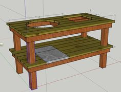 Weber Grill Table Diy ~ build a weber grill table Grill table for the bsk2000
