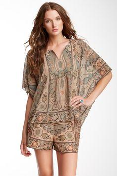 Lady Of Shalott Kimono Blouse by Anna Sui on @HauteLook