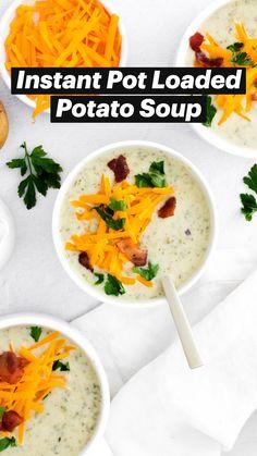 Dump Soup Recipe, Crock Pot Soup Recipes, Instapot Soup Recipes, Potato Recipes, Wine Recipes, Mexican Food Recipes, Potluck Dishes, Potluck Recipes, Classic Beef Stew