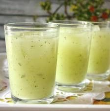 Cucumber juice is incredibly beneficial for skin and hair health thanks to its high content of silicon, sulfur, and vitamin C