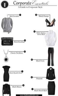 Fashionably Fabulous: Elements of Corporate Style