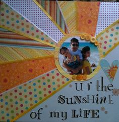 scrapbooking, president page- stationed by the rising sun.  love the phrase