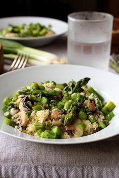 Green & lean couscou