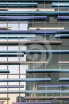 Details of Modern Building as texture.
