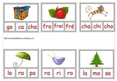 Des sons (niveau cp) - L'école de petite Prune Read In French, French Kids, Learn French, Montessori Math, Montessori Materials, Kindergarten Literacy, French Education, Core French, French Grammar