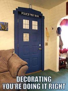 #DoctorWho Decoration!
