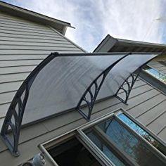 "ZENY 40""x80'' Window Door Awning Canopy Cover Hollow Sheet UV Rain Snow Protection (Yellow Panel) - - Amazon.com"
