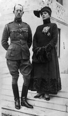 https://flic.kr/p/df94Ac   Alice & Andrew    During their exile, Alice, Andrew and their family, settled near Paris in a small house loaned to them by their sister-in-law Marie, Princess George of Greece.   During this period, Alice and Andrew began to grow apart and as a result Alice's mental health began to suffer.