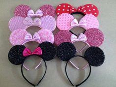 Minnie mouse ears mickey mouse ears Minnie mouse di RRoseRose
