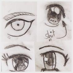 Anime eyes  I got bored