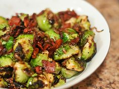 Grilling: Brussels Sprouts with Bacon   Serious Eats : Recipes