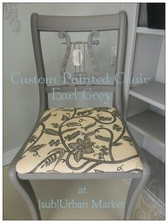 This Chair Was Custom Painted At {sub}Urban Market And Is Available For  Purchase