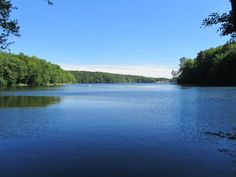 lütauer see (lake in mölln, germany)