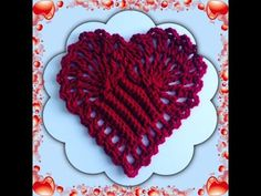How to Crochet a Heart Pattern #2  │ by ThePatterfamily - YouTube