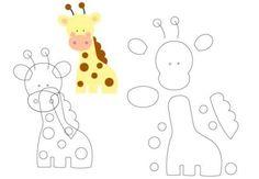 Moldes de Bichinhos para Festa Safari | Espaço Infantil