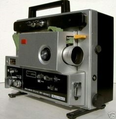 Super 8 sound projector