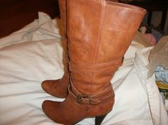 BCBGeneration Cognac brown Boots