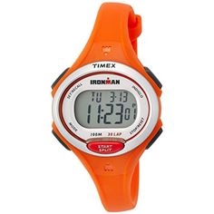 Timex Ironman Essential 30-Lap Watch - Mandarin >>> Check out the image by visiting the link. (This is an affiliate link) #HealthMonitors