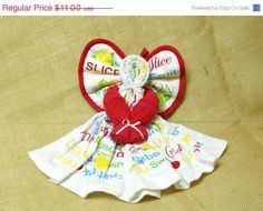 Summer Towel AngelDish Towel Angel Fruit by FarmCountryCrafts, $9.90
