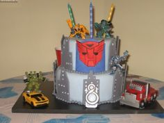 After I buy him Monster Truck stuff he wants a Transformers party.