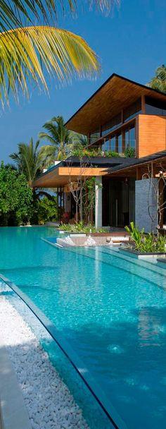 Pool at Coco Privé Kuda Hithi Island...Maldives