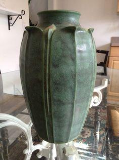 Art Pottery Van Briggle Mcm Turquoise Blue Art Pottery Lotus Bowl Dish Excellent Condition